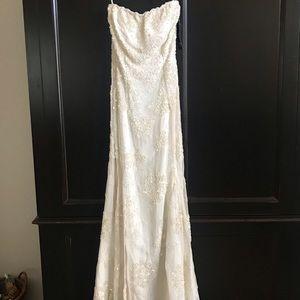 Wedding Dress; size 2. New, never worn.